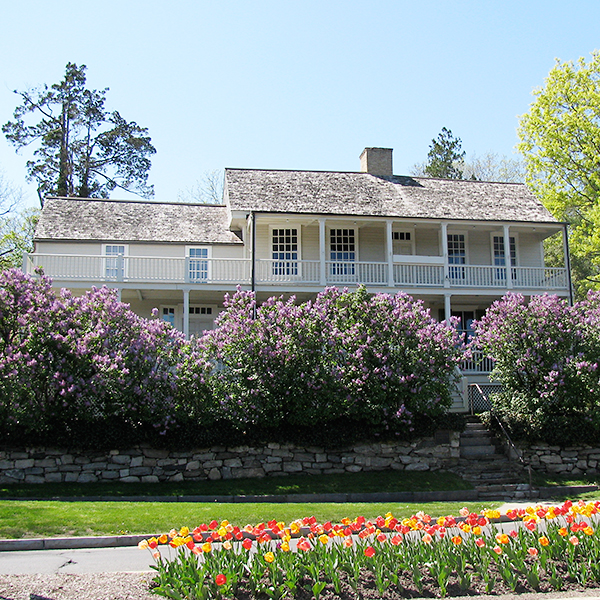 Bush-Holley House, headquarters for the Cos Cob artists.