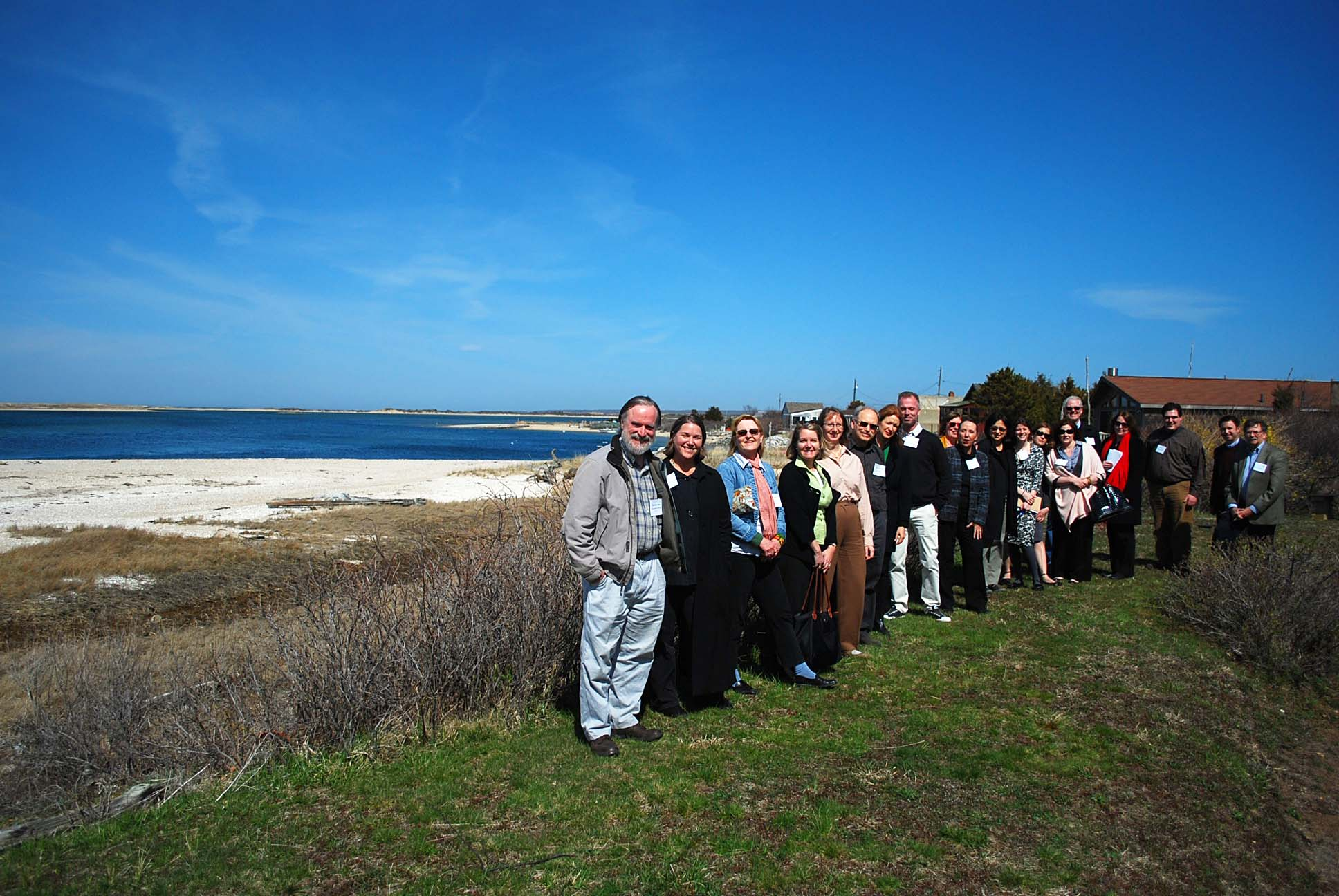 HAHS representatives at the Easthampton workshop in 2009