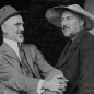 Joseph Henry Sharp and Eanger Irving Couse, at Couse's home in the 1920s