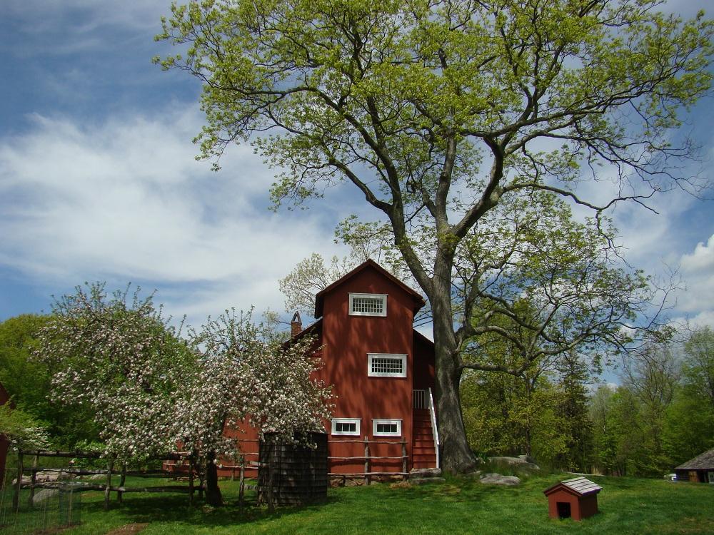 Southwest Exterior of Weir Farm in Wilton, CT