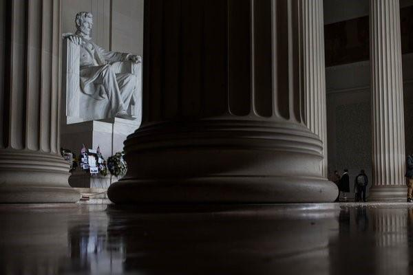 Lincoln Memorial in Washington, D.C. Photo: Zach Gibson/The New York Times