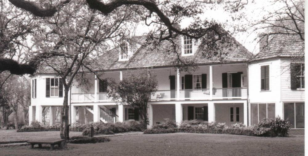 Melrose Plantation | Historic Artists' Homes & Studios on big villa, big balloons, big styles of homes, big estate home, big houses,