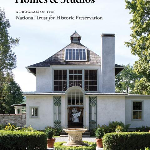 Cover of guidebook featuring Chesterwood Studio