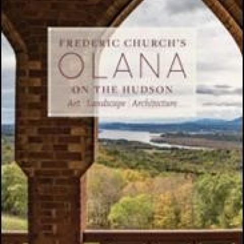 Cover of new book on Olana
