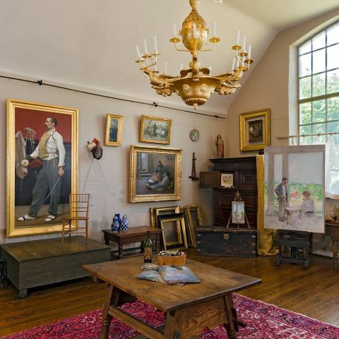 Studio of Gari Melchers at Belmont, Courtesy University of Mary Washington