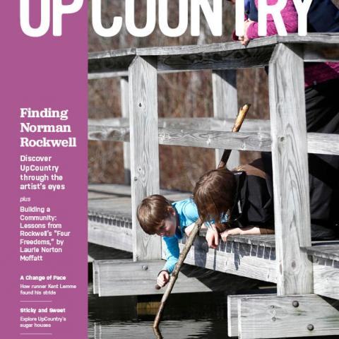 UpCountry Magazine Cover Page, March-April 2018 issue