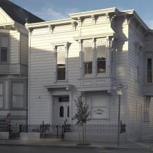 David Ireland House (exterior view); photo: Henrik Kam, courtesy of The 500 Capp Street Foundation