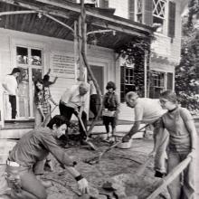 Edward Hopper House restoration, ca. 1973