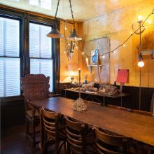 14.David Ireland House (interior view) dinning room; photo: Drew Kelly, courtesy of The 500 Capp Street Foundation.