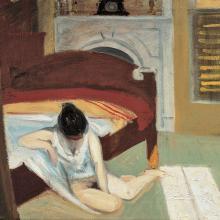 "Edward Hopper, ""Summer Interior,""1909 Whitney Museum of American Art, NY; Josephine N. Hopper Bequest 70.1197 © Heirs of Josephine N. Hopper, licensed by the Whitney Museum of American Art"