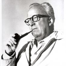 James Fitzgerald, ca. 1960s, unknown photographer, James Fitzgerald Legacy Archives.