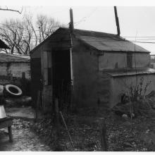 Shed_James Castle Shed, circa 1935, Tom Trusky Papers, Special Collections and Archives, Boise State University..jpg