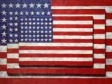 Image:  Jasper Johns, Three Flags, 1958, Whitney Museum of American Art