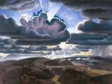 Charles E. Burchfield (1893–1967), Sunburst, 1929–31, oil on canvas. The Charles Rand Penney Collection of Works by Charles E. Burchfield, 1994, 19994:001.052.
