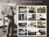 Andrew Wyeth paintings serve as images for stamps